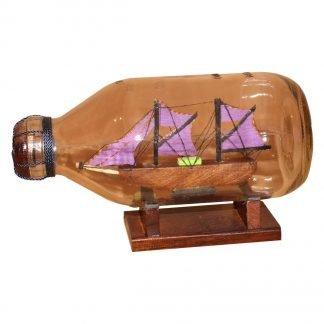 Miniatuur Schip in Fles