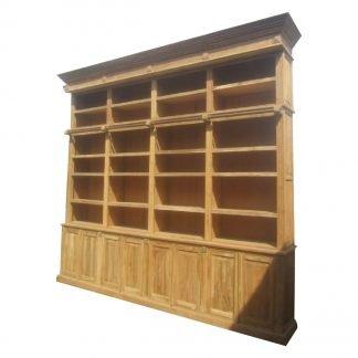 Teak Bibliotheekkast