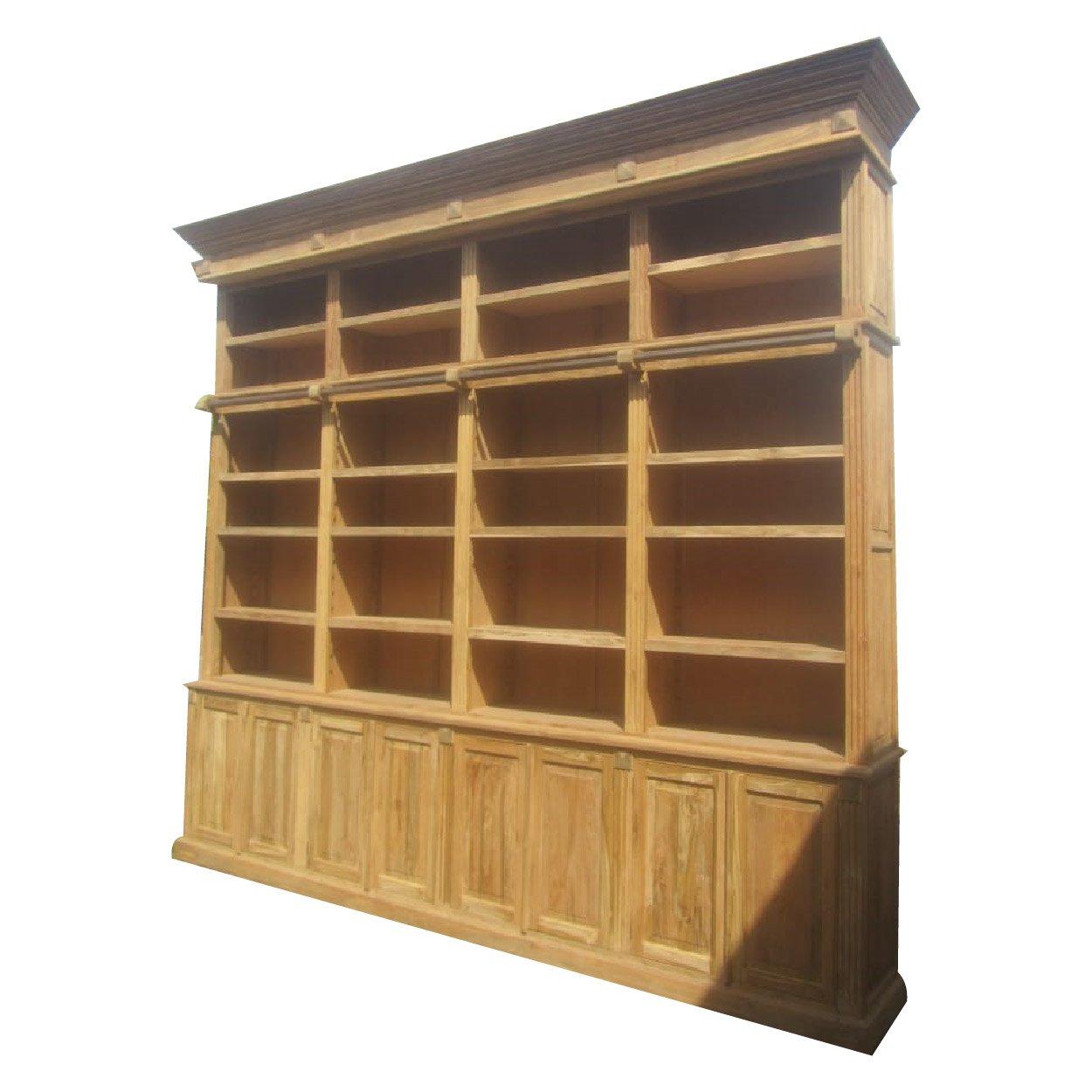 Verwonderend Boekenkast 'Bibliotheekkast' 368x61x332 cm - OLMEGA Rotterdam DJ-45