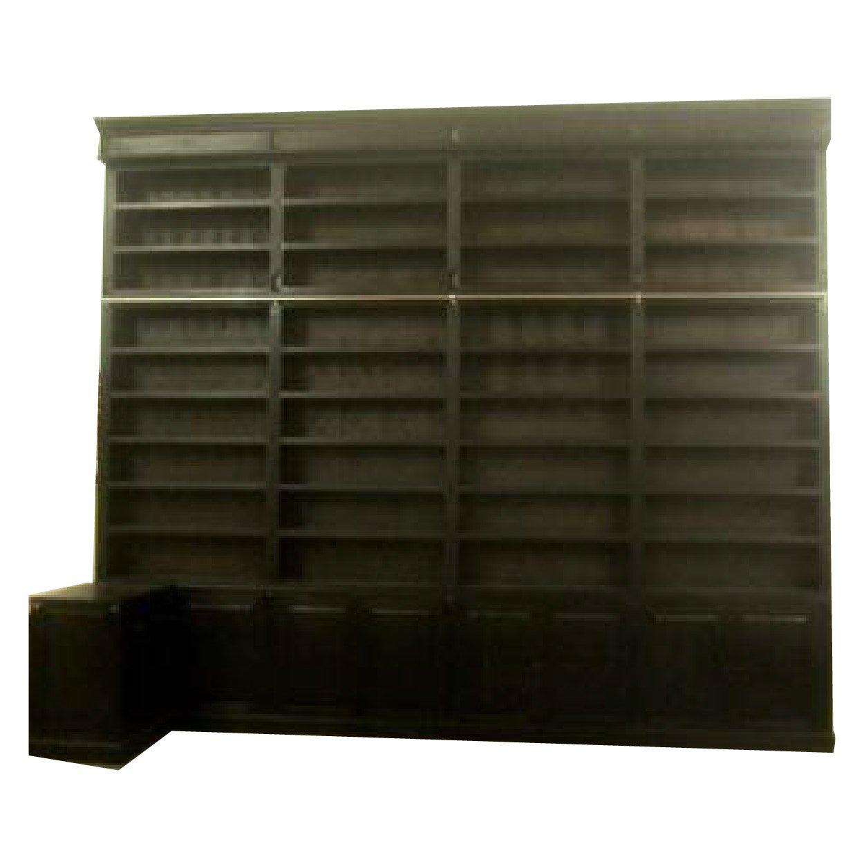 Fonkelnieuw Boekenkast 'Bibliotheekkast' 450x30_35x380 cm - OLMEGA Rotterdam GW-87